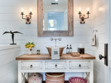 farmhouse-powder-room 10 Things to Enhance Your Powder Room for the Holidays or Anytime Upholstery in London