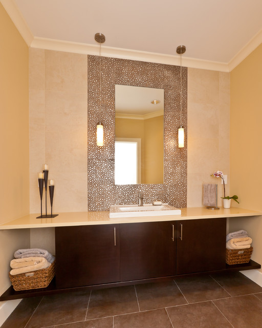 Kirkland Remodel - Contemporary - Powder Room - Seattle - by ...