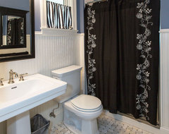 Kirkwood, MO Custom Home traditional-powder-room