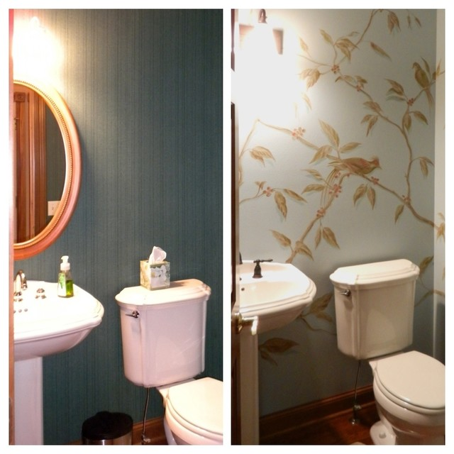 Kitchen Remodel traditional-powder-room