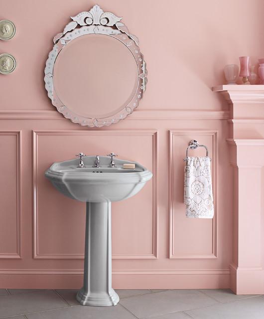 Kohler Portrait Pedestal Sink.Kohler Portrait Pedestal Antique Wide Spread Faucet