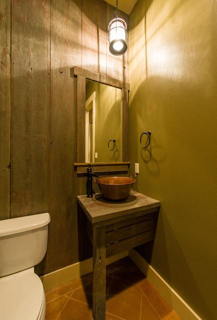 Larkhall - Lantlig - Toalett - Austin - av Agave Custom Homes