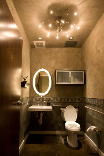 light by Design Projects contemporary-powder-room
