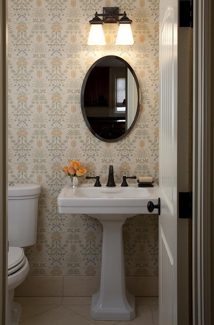Lindy Donnelly traditional powder room