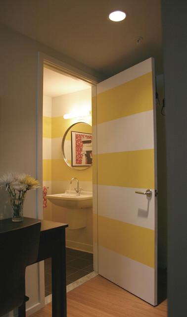 Loft Living contemporary-powder-room