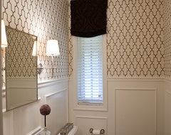 Luthervillle Family transitional-powder-room