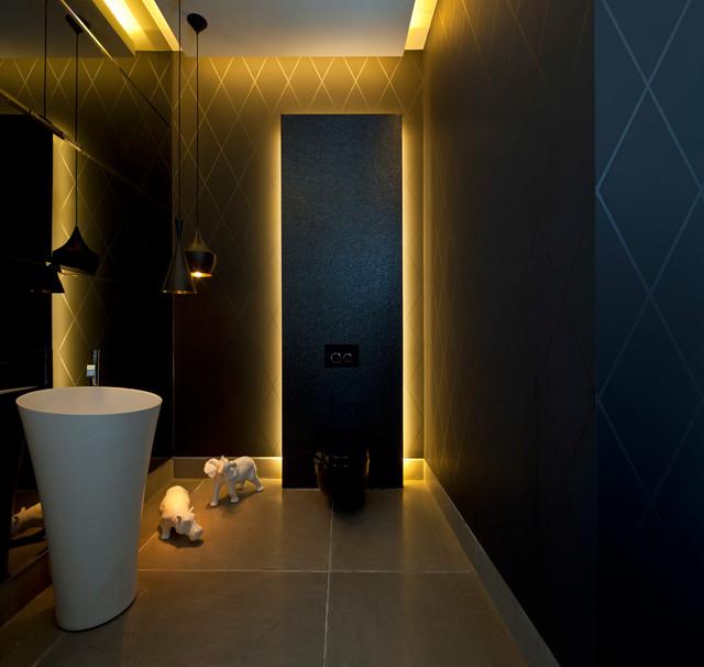 Luxury Villa In Israel Modern Powder Room Other