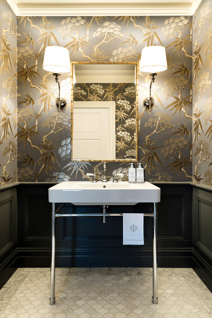 Ma Residence Traditional Powder Room Sydney By