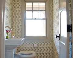 Madaket Road traditional powder room