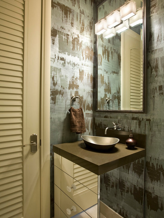Ideas for small spaces powder room design ideas pictures for Small room 009 attention please