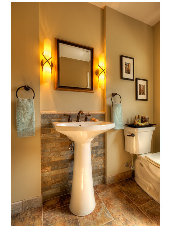 Pedestal Sink Bathroom Design Ideas : Pedestal Sink Powder Room Design Ideas, Pictures, Remodel & Decor
