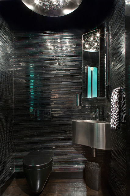 modern in annapolis contemporary powder room baltimore by lynbrook of annapolis inc. Black Bedroom Furniture Sets. Home Design Ideas