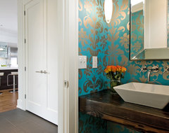 Modern Powder Room contemporary-powder-room
