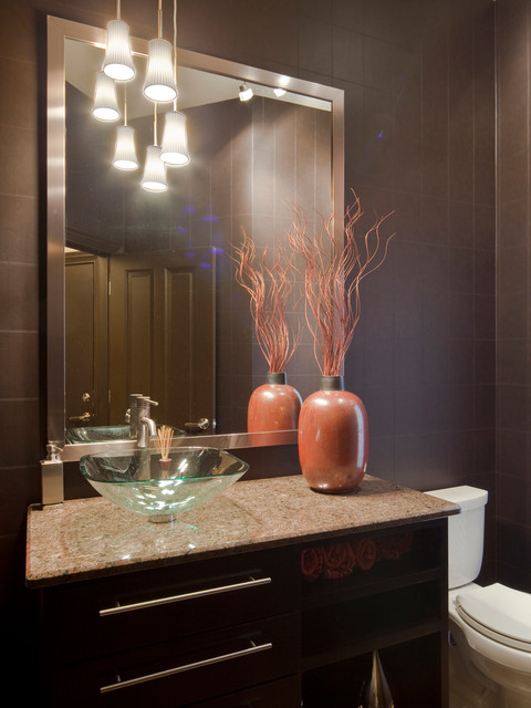 Modern Residence modern-powder-room