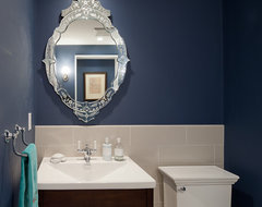 Modern Urban Revival traditional-powder-room