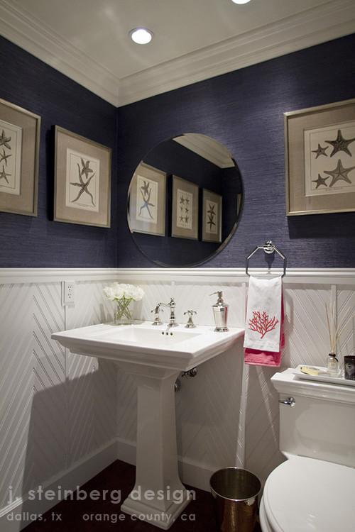 Bathroom By Janelle Steinberg Interior Design