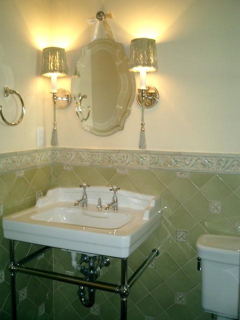 Monte Vista Home Design - New Construction traditional-powder-room