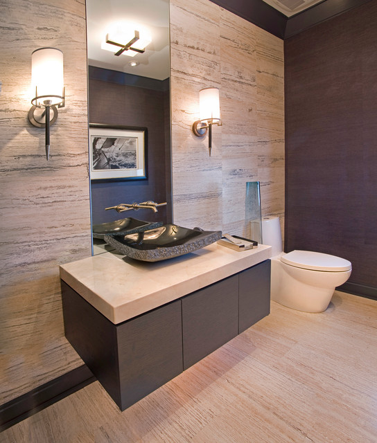 Mountain Modern Contemporary Bathroom Other By W