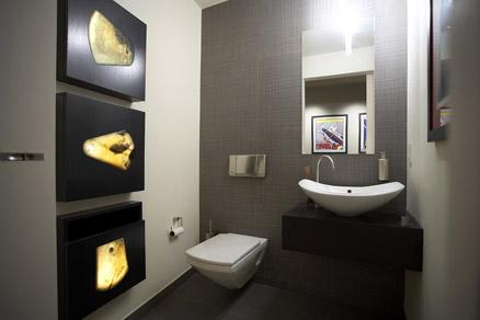 Narofsky Architecture modern-powder-room