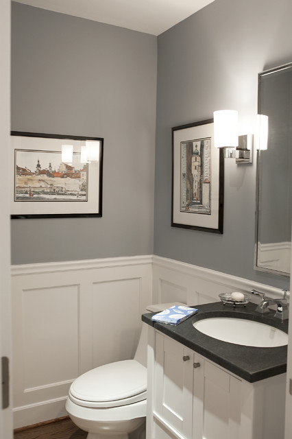New York Area Interior - Traditional - Powder Room - New York - by ...