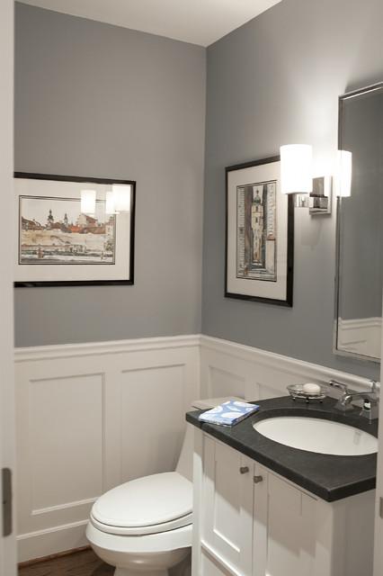 New York Area Interior Traditional Powder Room By Debra Kling Colour Consultant