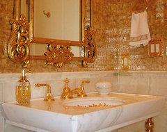 newton residence 1 - powder room - dplk.60 traditional-powder-room