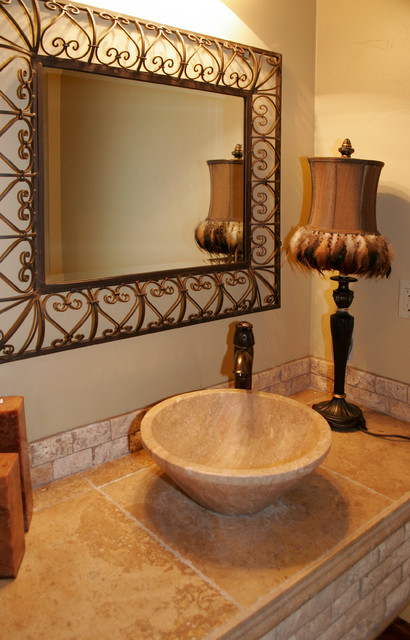 Northern Wasatch Home Builders peoples choice award winner traditional-powder-room