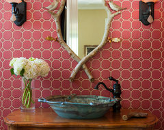 Northwood Powder Room traditional powder room