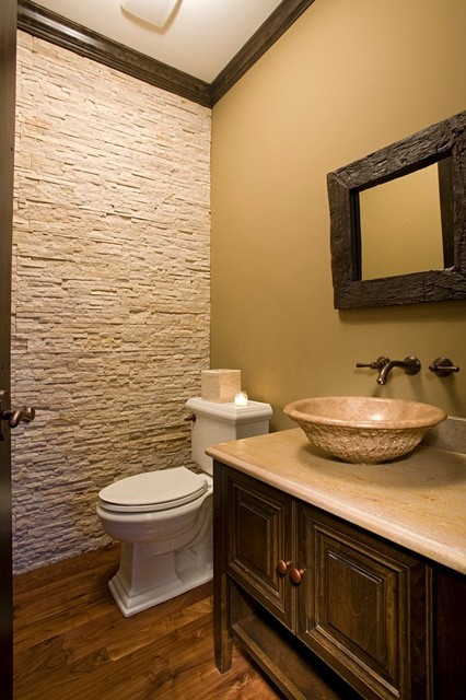 Oakley Home Builders  powder room