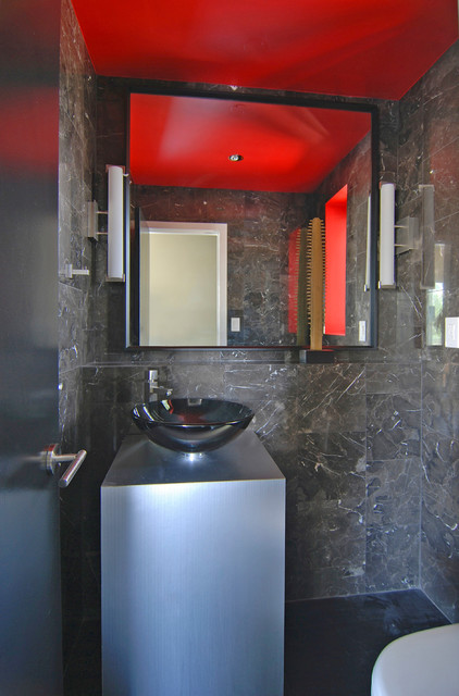 Pacific View contemporary-powder-room