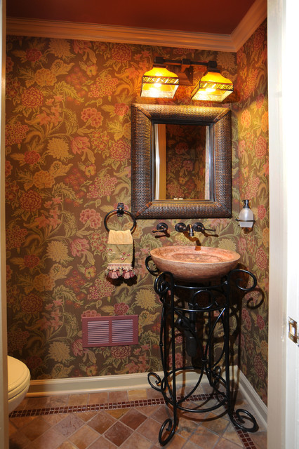 Page Place traditional-powder-room