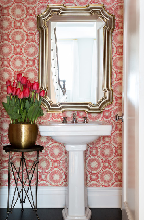 Powder Rooms That Make A Statement