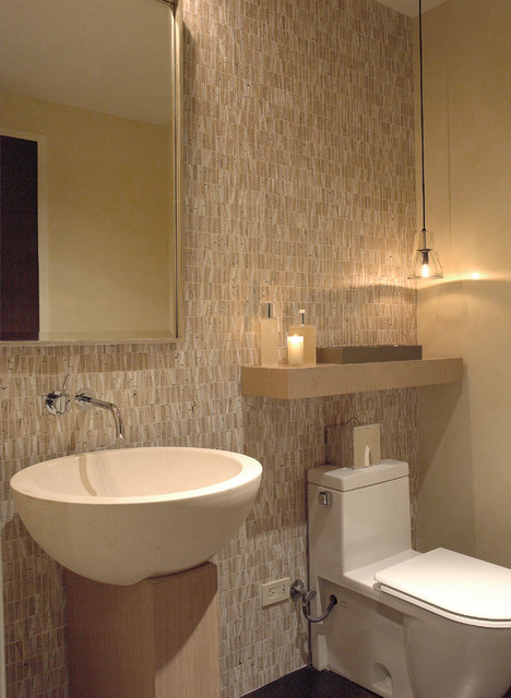 Pearson Street Residence contemporary-powder-room