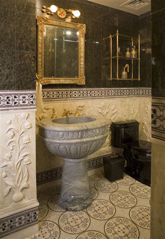 Peter S. Balsam traditional-powder-room
