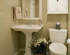 Powder Bath beach-style-powder-room
