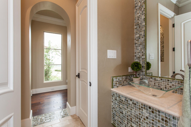 Powder Bath contemporary powder room