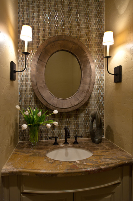 Bath Remodel Houston Style Powder Bath Remodel 2  Traditional  Powder Room  Houston .