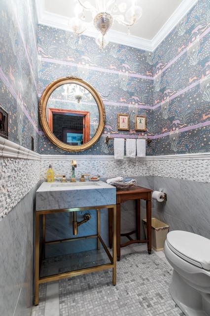 Powder Bath, Traditional Home