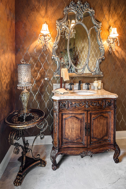 powder room accessories decor traditional powder