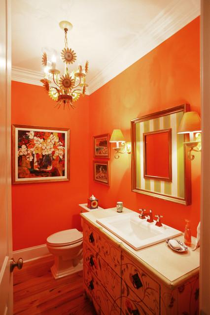Powder Room eclectic-powder-room