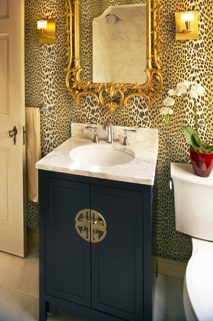 Powder Room eclectic-powder-room