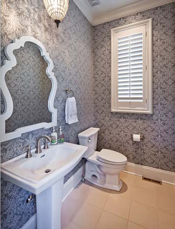 Powder Room modern powder room