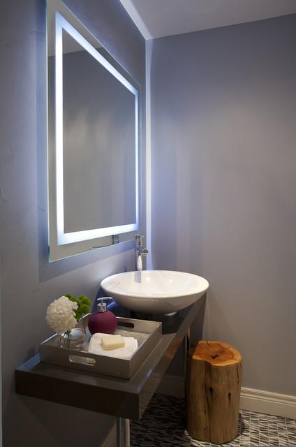 Powder Room contemporary-powder-room