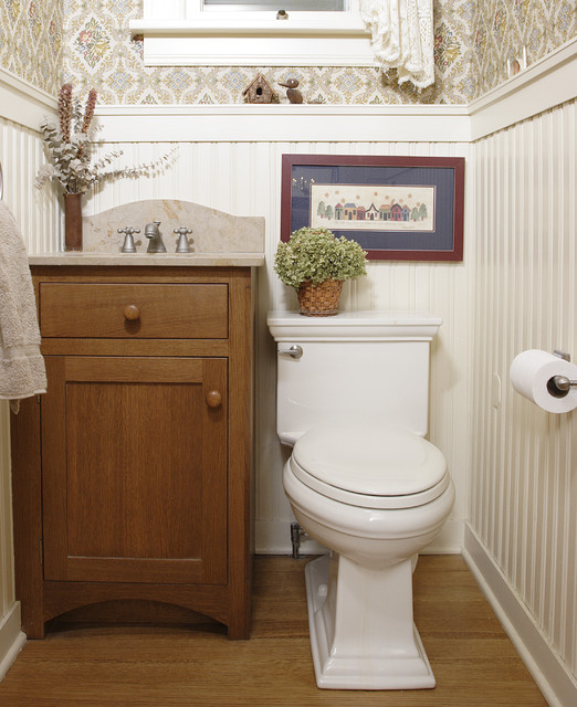 Powder Room Traditional Powder Room Chicago By