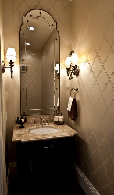 Powder Room Transitional Powder Room Houston By Ridgewater Homes Inc