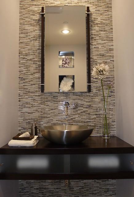 Powder Room - Modern - Toalett - Los Angeles - av Susan Deneau ...