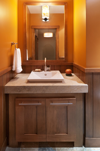 Powder Room - Contemporary - Powder Room - Sacramento - by Ward-Young Architecture & Planning ...