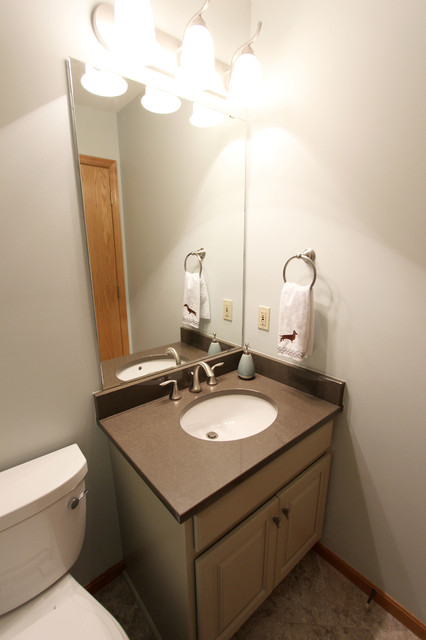 Powder Room Waypoint Vanity With