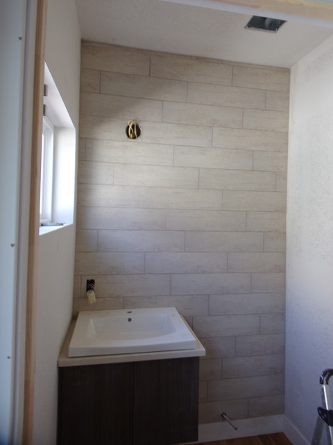 powder rooms modern powder room denver by rogue tile