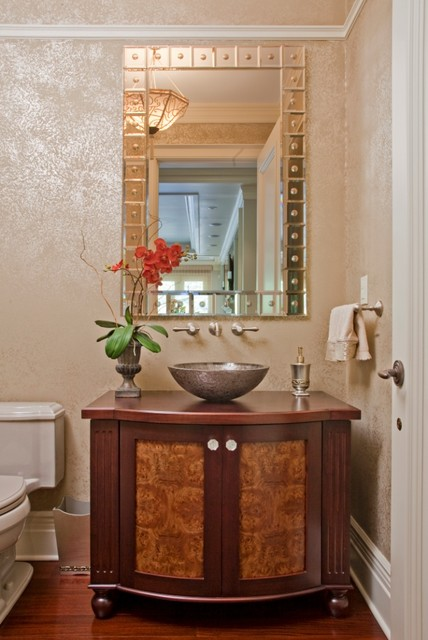 Powder Rooms traditional-powder-room